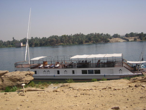 This Nile Cruise ship is as empty as Egypt's hard-hit tourism industry today.