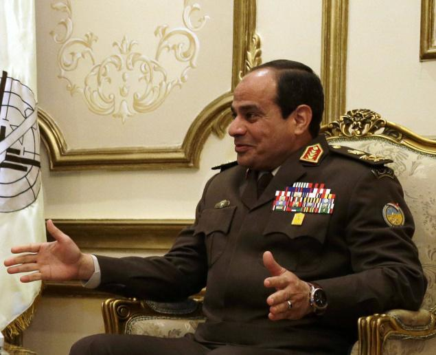 General Abdel Fateh El Sisi, Egypt's Military Commander, recently hinted that he may run for President. -Image via Hindu Times