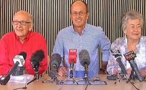 Sky News captures joy of Greste family after news of Peter Greste's release.
